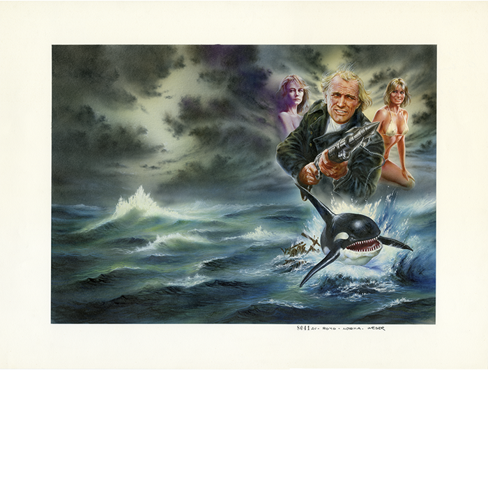 ORCA THE KILLER WHALE