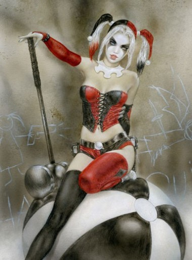 THE HAMMER OF MADNESS - HARLEY QUINN
