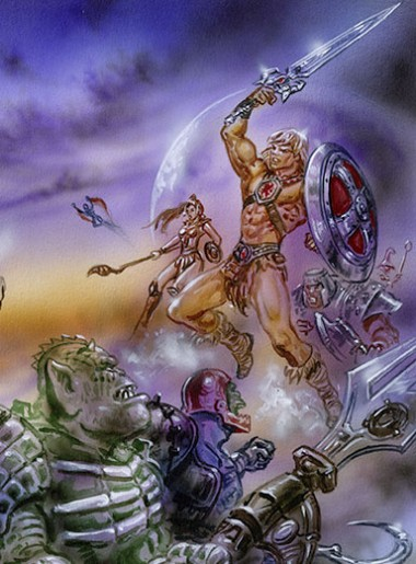 HE-MAN, MASTERS OF THE UNIVERSE