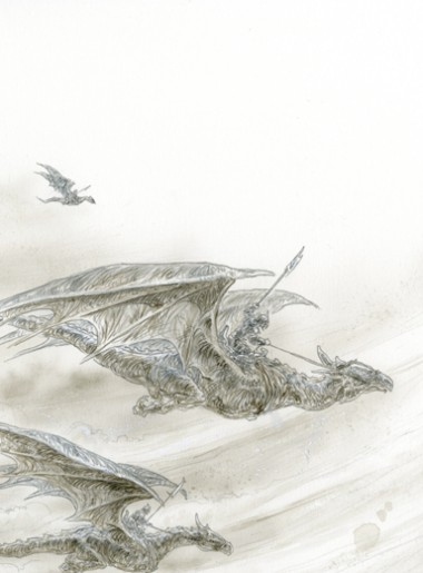 THE ICE DRAGON, CHAPTER 4 BEGINNING