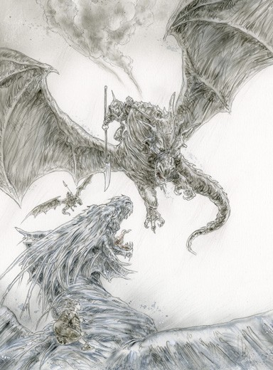 THE ICE DRAGON, CHAPTER 7 SECOND
