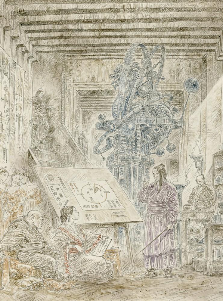 DEAD MOON SERIE EPILOGUE ORIGINAL ART