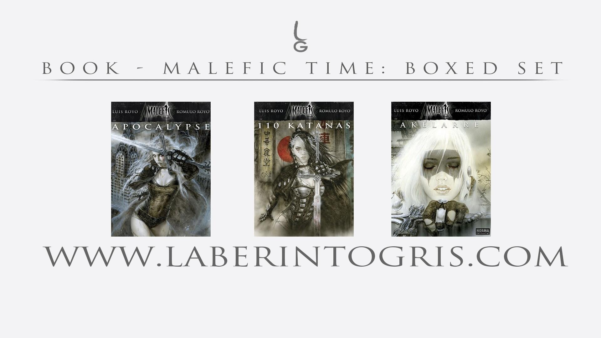 Malefic Time - Cofre (VERSION ESPAÑOLA)