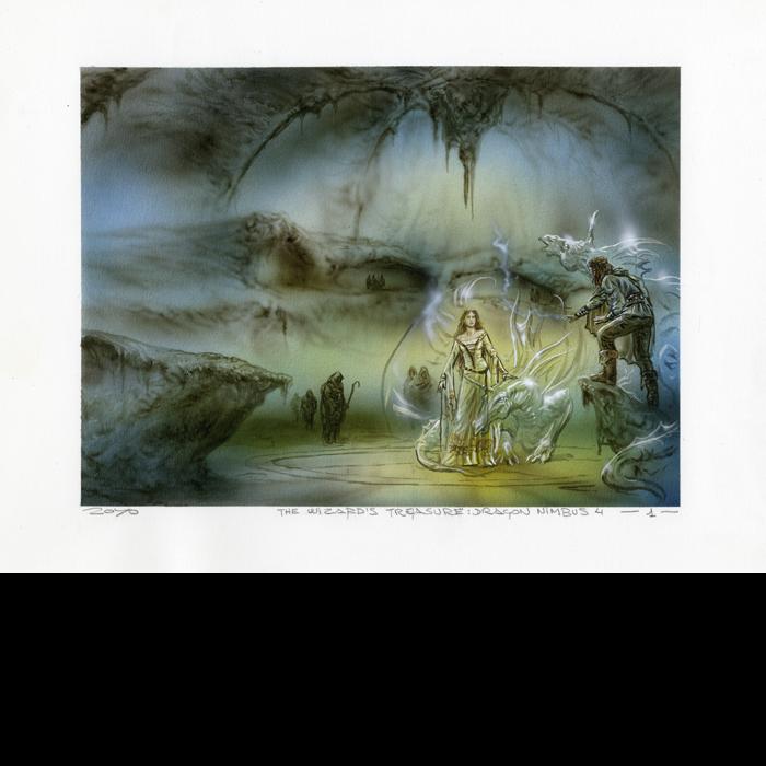 THE WIZARDS TREASURE DRAGON NIMBUS 4
