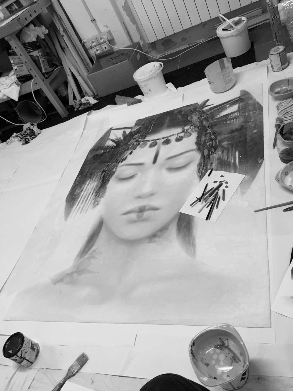 ARCO15-RomuloRoyo-GoddessesOfNibiru-Work-in-Progress