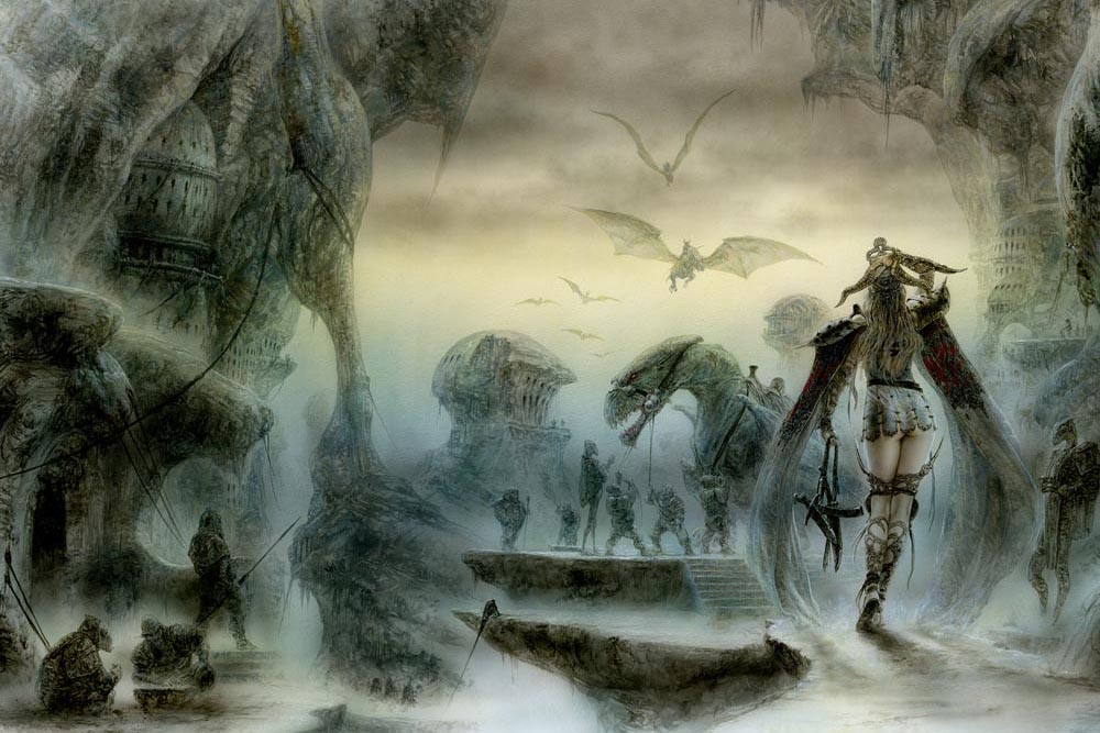 Luis_Royo_Title_The_door_to_always_never_LABERINTO_GRIS