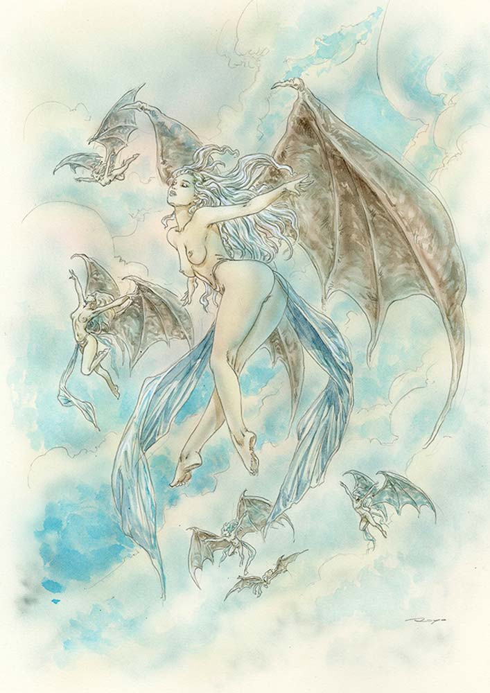 LuisRoyo-Ref_RD-2-Title_The_Reason_Disappeared_2-Laberinto-Gris-Gallery-art-angels-Size_27_5x38cm-Sketch-Erotic-sexy-Illustration--drawing