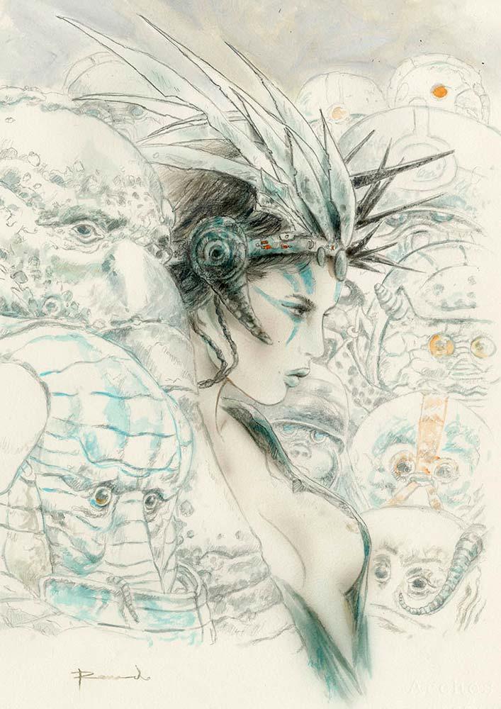 RomuloRoyo-Laberinto-Gris-Gallery-art-contemporary-Ref_P_691_Title_Recuerdo_a_Juan_Jimenez_drawing-Size_38x56_5cm