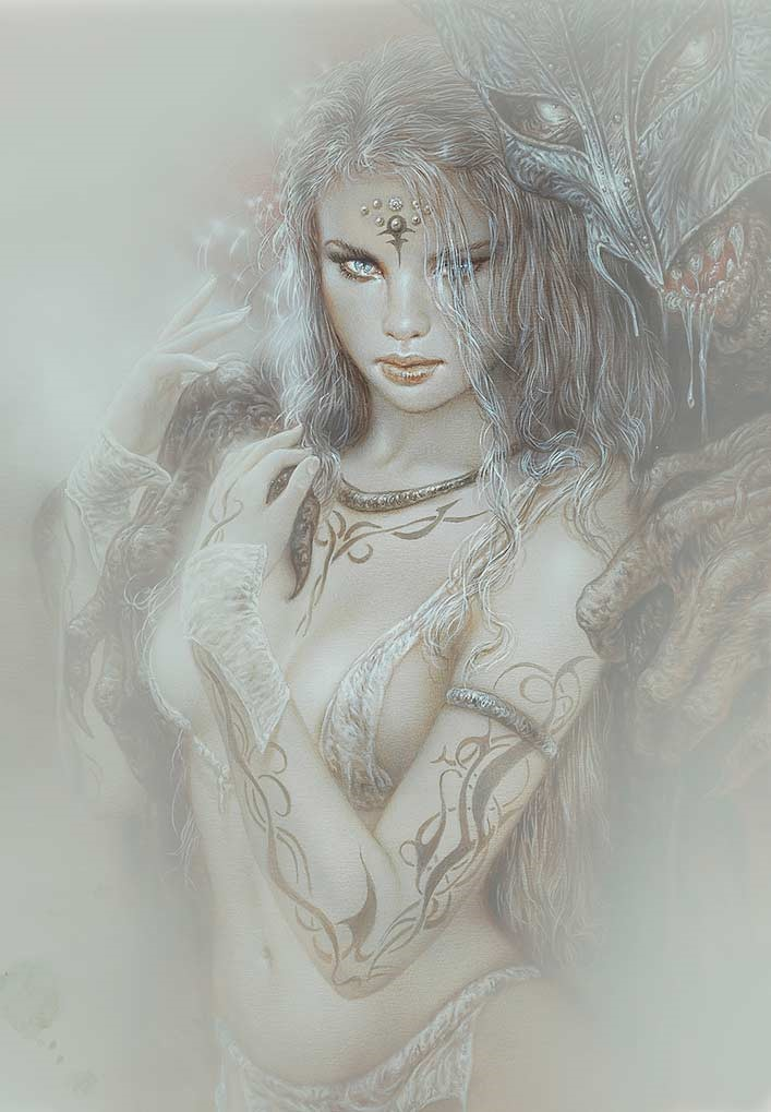 59GW_New_secrets-Luis_Royo-Limited_edition_Laberinto_Gris_Gallery_art-sales_Black_Friday_2020-fantasy-Illustration-graphic_work