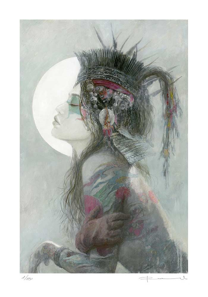 124LE_DREAMS_IILuis_Royo128LE_THORNS_II-Romulo_Royo-Limited_edition_Laberinto_Gris_Gallery_art-Black_Friday_2020-fantasy-painting
